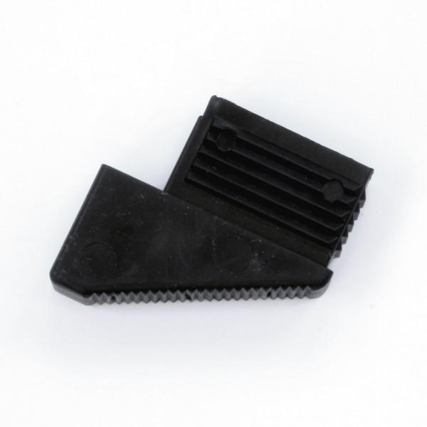 Kunststoff-Fuß hinten für Compact-Ausführung, leitfähig