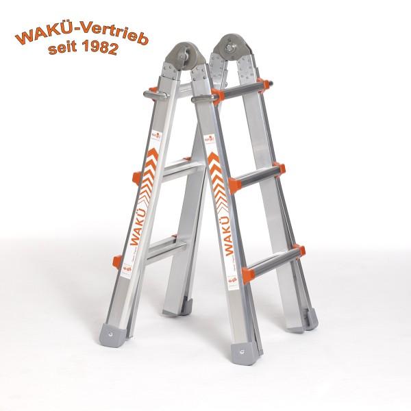 WaKü Teleskopleiter Art.-Nr. 100 3-10 Sprossen